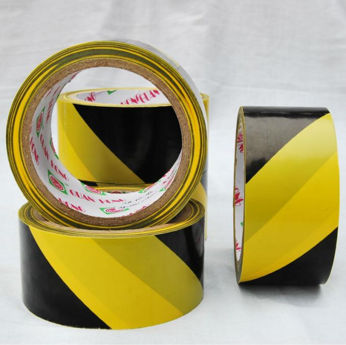 rubber adhesive underground electrical warning tape for road safety / Barrier sign