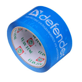 China Blue Printed Packaging Tape Water Activated Durable Viscosity 48mic supplier