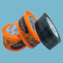 China Water based acrylic adhesive 12mm / 24mm Printed Packaging Tape for cargo packing supplier