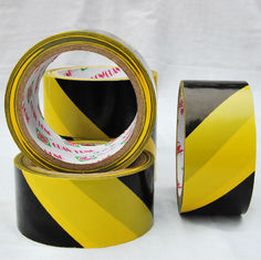 China Roadway Safety PVC Warning Tape supplier