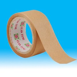 China bag / box Sealing gummed kraft paper tape , workshop permanent sealing tape supplier