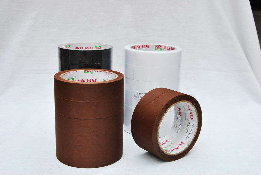 Black cable protection pvc reinforced packing tape for