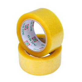 China 48mm X 25m Low Noise BOPP Packing Tape Waterproof Custom Logo distributor