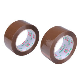 China BOPP Dark Brown Personalised Packing Tape Reinforced 48mm x 60m distributor