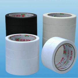 China colorful white / tan crepe peper low tack masking tape of heat resistant factory