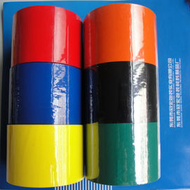 China BOPP Strong adhesion Acrylic Glue Colored Packaging Tape , 50mm * 66 m distributor