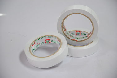 China permanent Strong sticky two sided student Stationery paper tissue tape , 12mm / 24mm factory