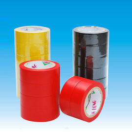 China Fixing / reinforcement PVC Insulation Tape , red / blue / green pipe wrap heat tape distributor
