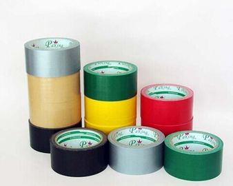 China Single Sided Colored Cloth Duct Tape High Bond For Marking / Bundling distributor