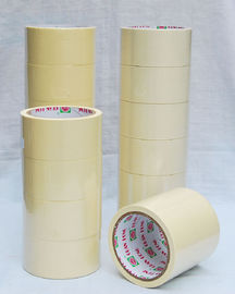 China High strength carton package  Natural Rubber Colored Masking Tape distributor