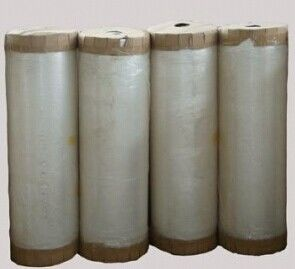 China carton packaging heat resistant opp BOPP Jumbo Roll yellow / tan / green tape distributor