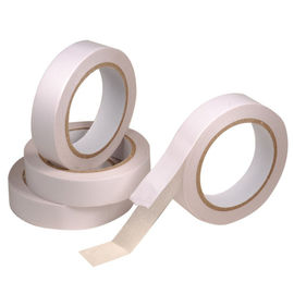 China hot melt adhesive Double sided tissue tape , sealing 2 sided tapes distributor