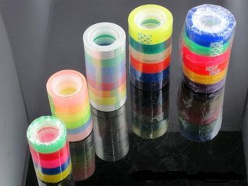 China Easy Tear BOPP Adhesive Tape For School Use Crystal Clear Tape distributor