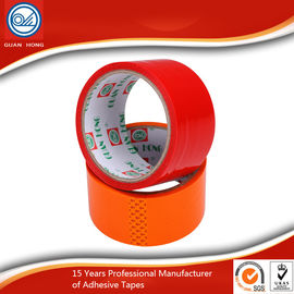 China Stable 48mm BOPP Adhesive Tape , Light Weight Coloured Packaging Tape distributor