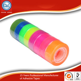 Acrylic Glue company logo BOPP Stationery Tape for office paper sealing